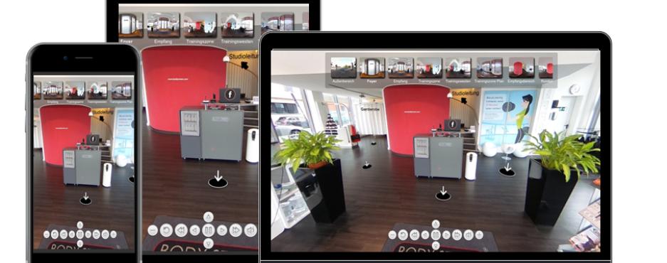 Virtuelle 360 Grad Rundgänge