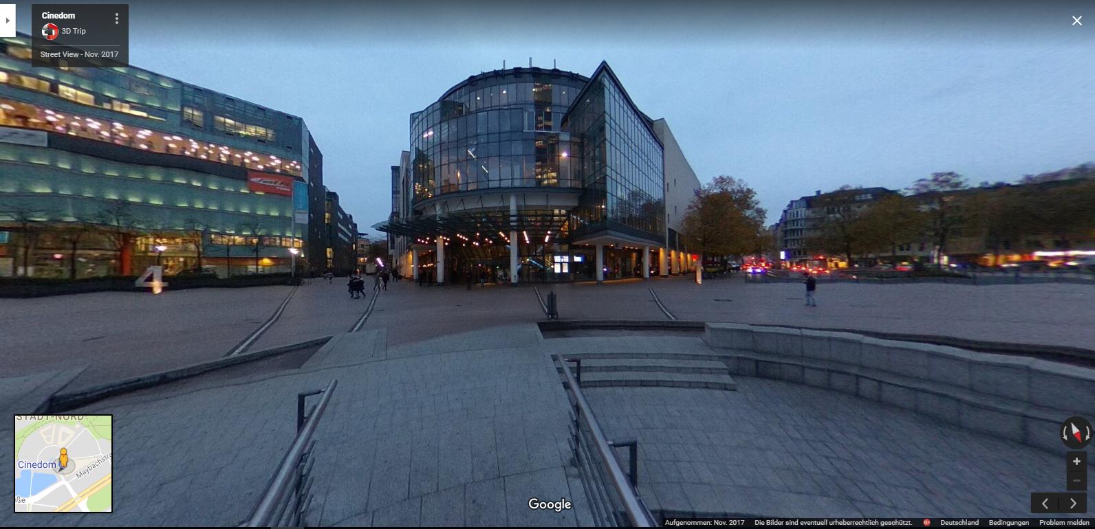 MediaPark Köln,360Grad Panorama, 3DTrip Köln, 360 Grad Fotos