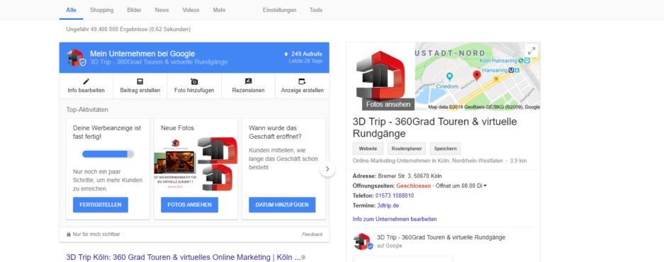 Auf Google, Google Business und Google Maps besser gefunden werden! So funktioniert es..
